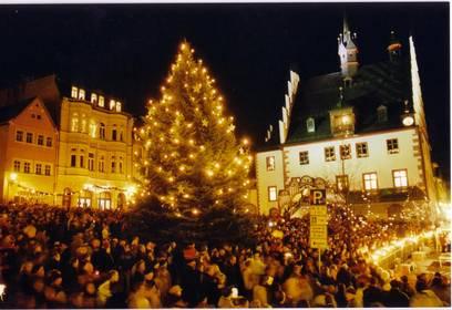 lichterfest1 foto stadtverwaltung ©Stadt Pößneck