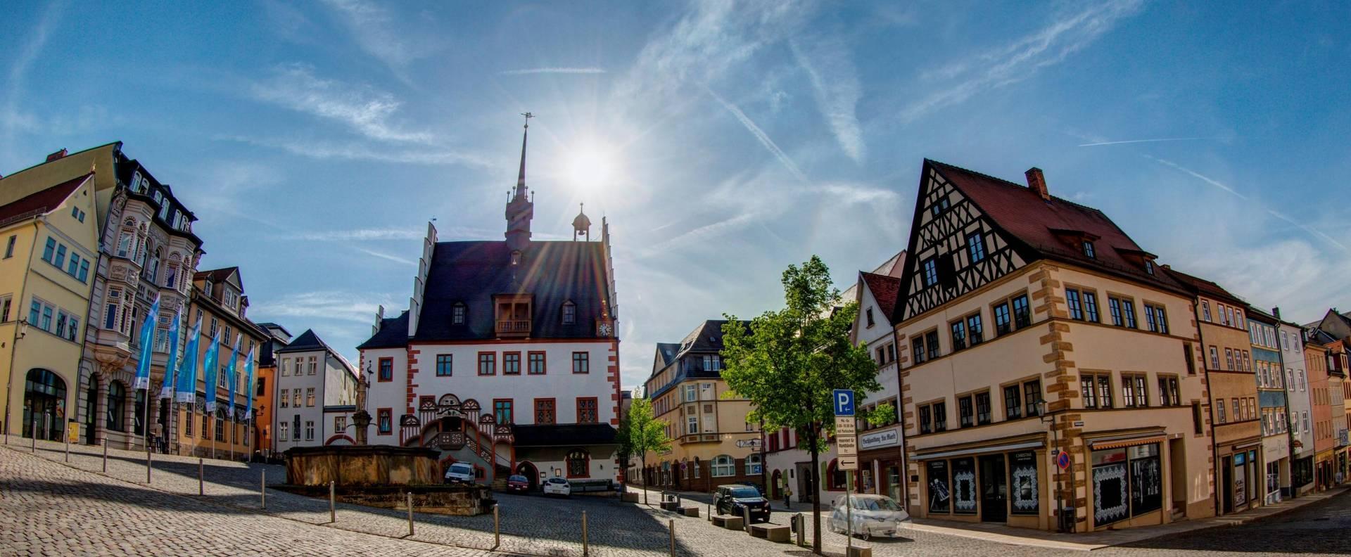 rathaus+markt foto jahn 2018 ©FotoStudio Jahn Pößneck